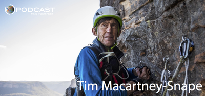 Find Your Feet Podcast for trail running training - Tim Macartney-Snape, Mt Everest, Sea to Summit Podcast